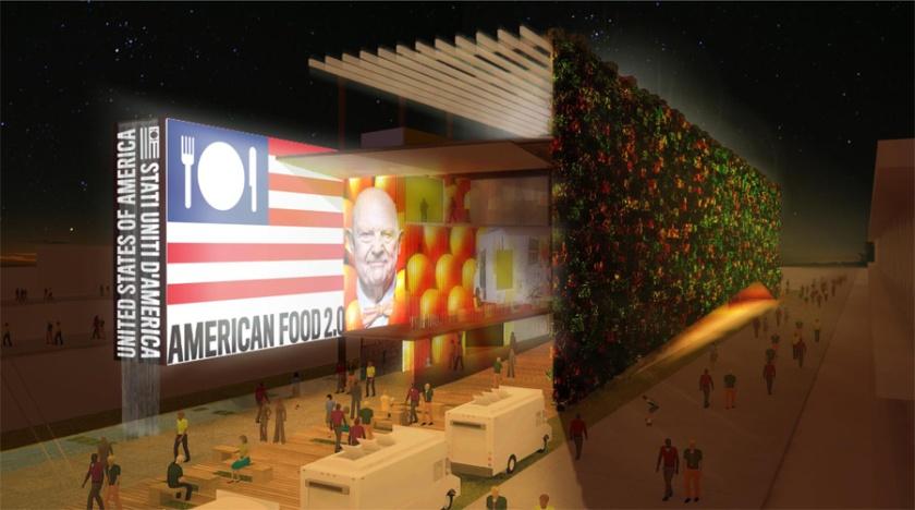 مشاركة الولايات المتحدة الأمريكية في إكسبو ميلان 2015