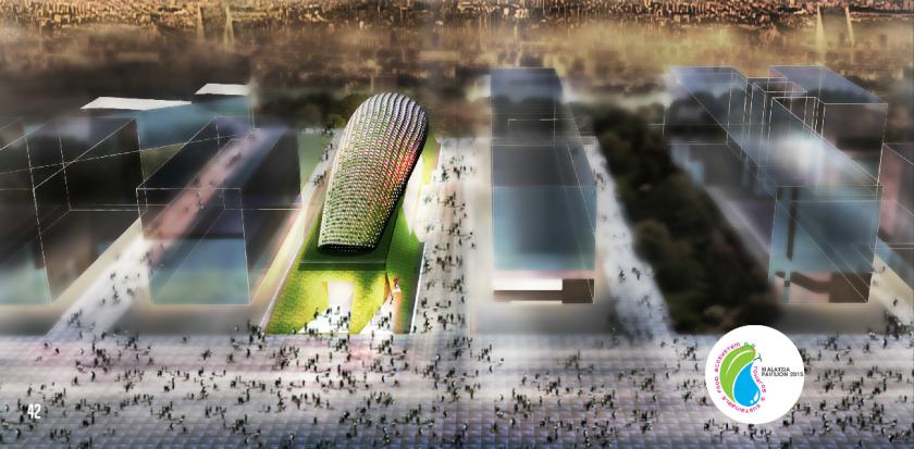 الجناح الماليزي في معرض إكسبو ميلان 2015