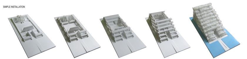 خطوات بناء الجناح الفييتنامي